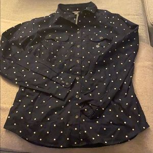 Long sleeve it button up